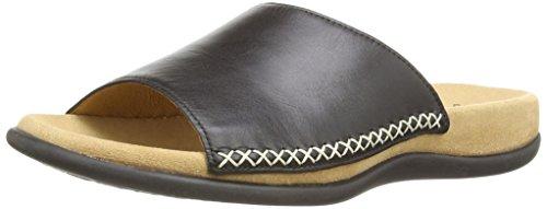 Gabor Shoes 03.705.27 Damen Pantoletten ,Schwarz (schwarz) ,41 EU