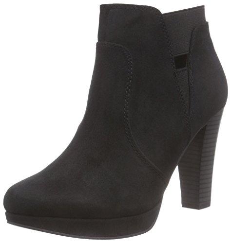 s.Oliver 25303, Damen Kurzschaft Stiefel, Schwarz (BLACK 001), 40 EU (6.5 Damen UK)
