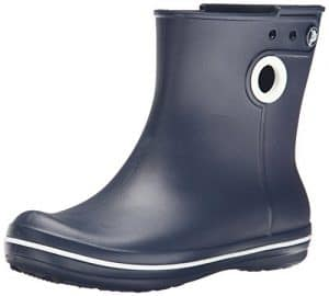 crocs Damen Jaunt Shorty Boot Kurzschaft Gummistiefel, Blau (Navy 410), 38/39 EU