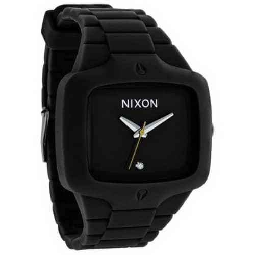 Nixon Herren-Armbanduhr Analog Silikon A139000-00